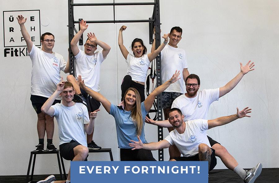 Support Mates & Über Shape Fortnight Fitness Fridays